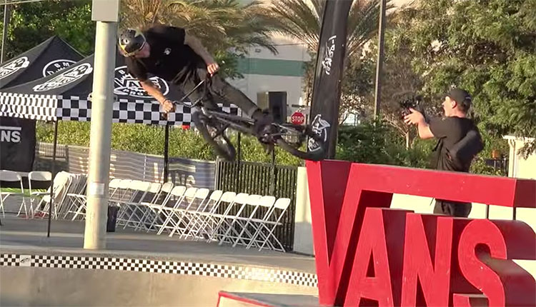 Vans BMX Pro Cup Huntington Beach Practice Day 1 BMX video