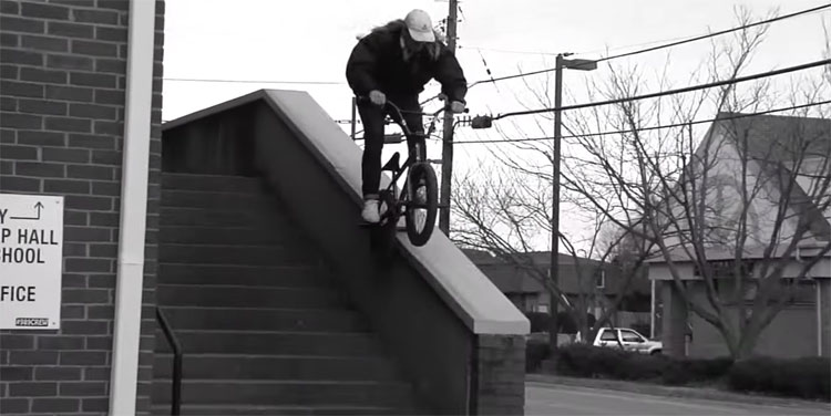 Zack Gerber Us Them BMX video