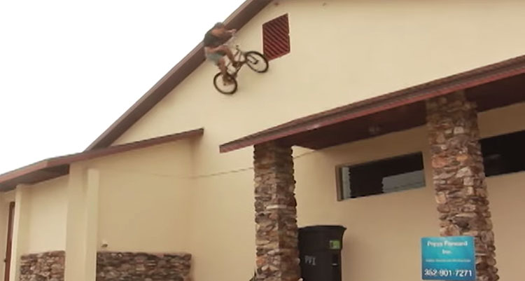 Bone Deth Colt Fake Too Fast For Food BMX video