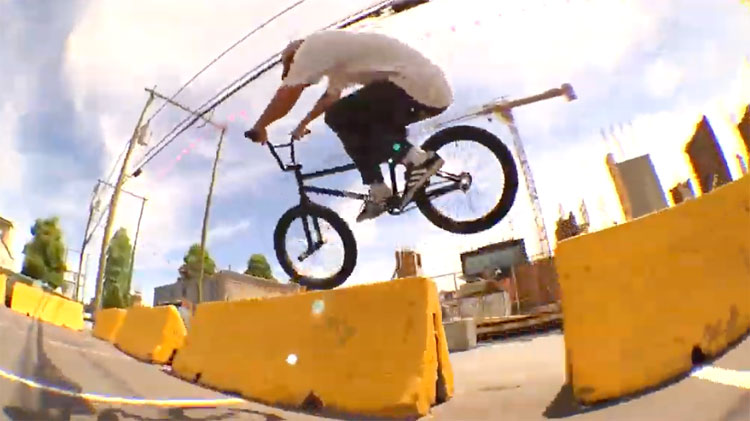 Chris Cadot Wink Grant Fictional Finalism BMX video
