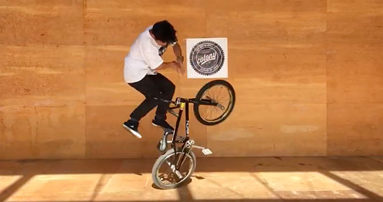 Colony BMX Kio Hayakawa Welcome Video