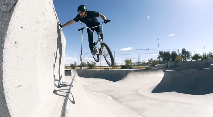 Colton Walker Las Vegas Concrete BMX video