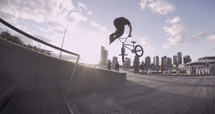 Division Brand Make Noise Jake Deering BMX video