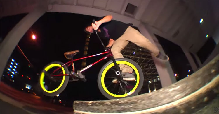 Fit Bike Co. Matt Nordstrom Bars Promo BMX video