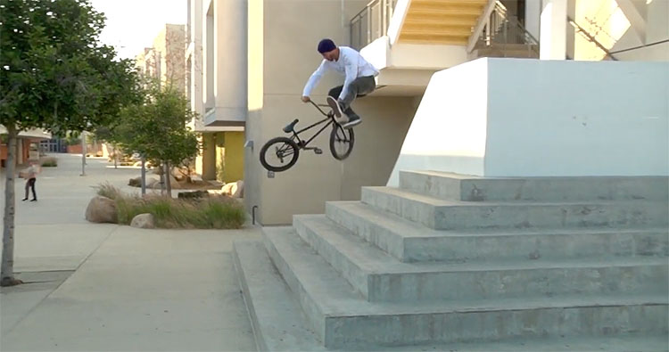 Fiend BMX Garrett Reynolds Signature V2 Promo BMX video