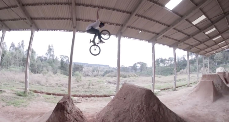 Holly Trails BMX video