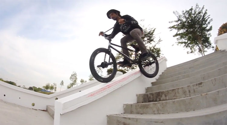Idham Ahmad Etnies BMX video Malaysia