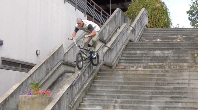 Infamous Beton Brut BMX video
