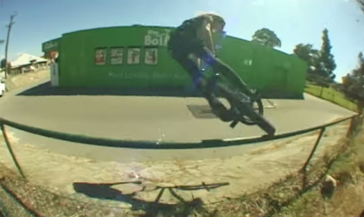 Jay Wilson Bone Deth BMX Too Fast For Food BMX video