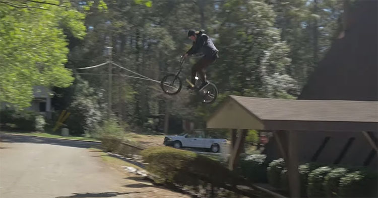 Kink BMX toasted north carolina campagne BTS BMX video