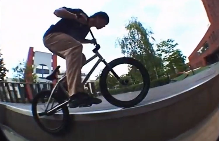 Luc Flosbach Fracture BMX video