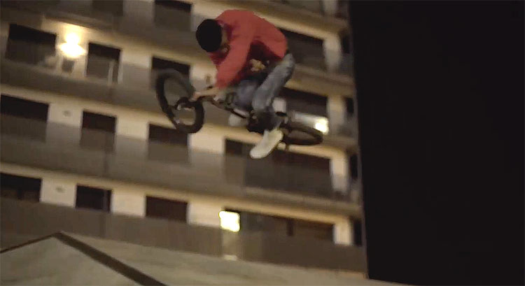 MarieJade No Future Barcelona BMX video