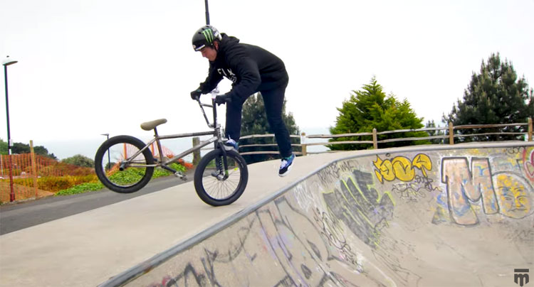 Mongoose BMX In Hastings England video