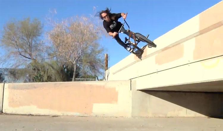 Mutiny Bikes Jeff Wescott Comb Line Promo BMX video