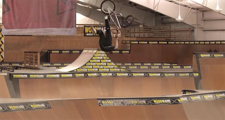 Sean Curliss Woodward West BMX video