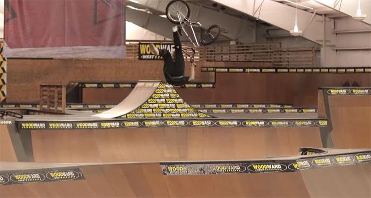 Sean Curliss Woodward West BMX video