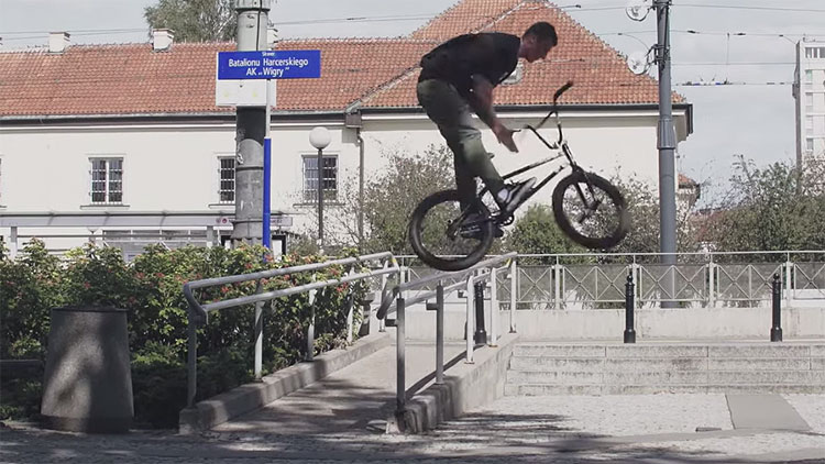 Shadow Conspiracy Subrosa Brand Warsaw Rising BMX video