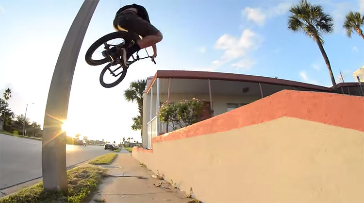 S&M Bikes Dave Krone NBD Frame BMX video