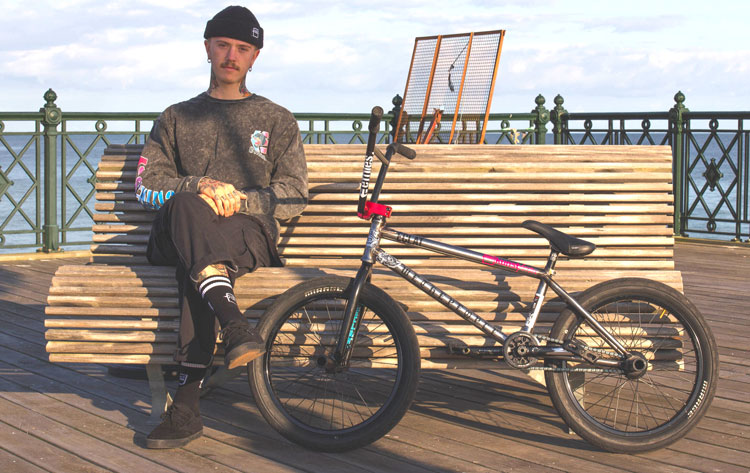 Wethepeople BMX Felix Prangenberg Bike Check BMX
