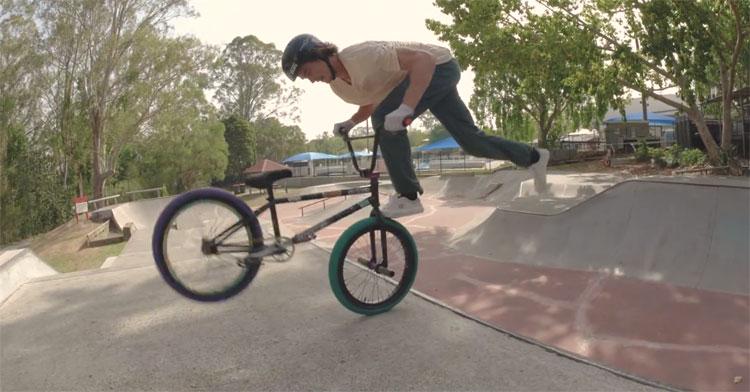 Alex Hiam Hibiscus Skatepark Session BMX