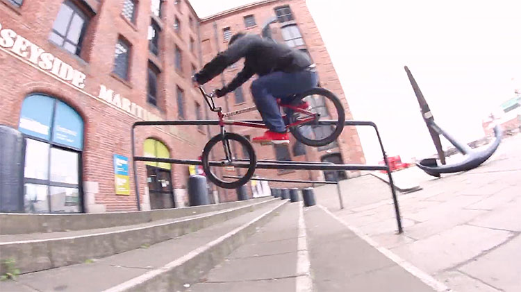 Alive Industry Ben Lewis frame promo bmx video