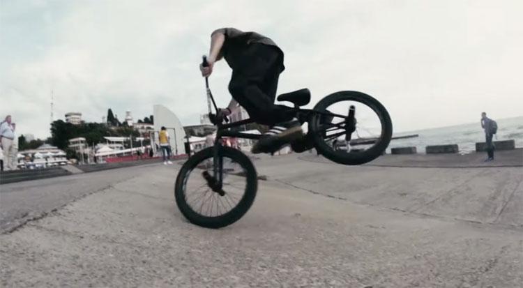 Artem Kladov BMX video