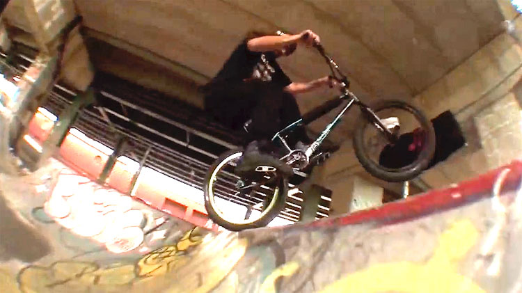 BCave Stinkcave BMX video