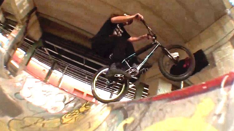 BCave Stinkcave BMX video