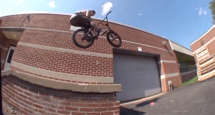 Brad Gibbs BMX video Ride PA