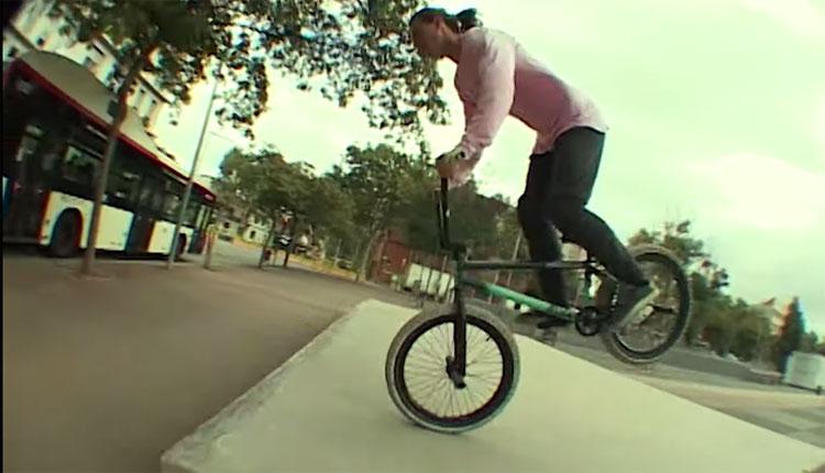 BSD BMX Andriy Podoba Barcelona BMX video