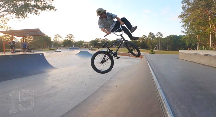 Chase Davidson 30 Tricks 30th Birthday BMX video