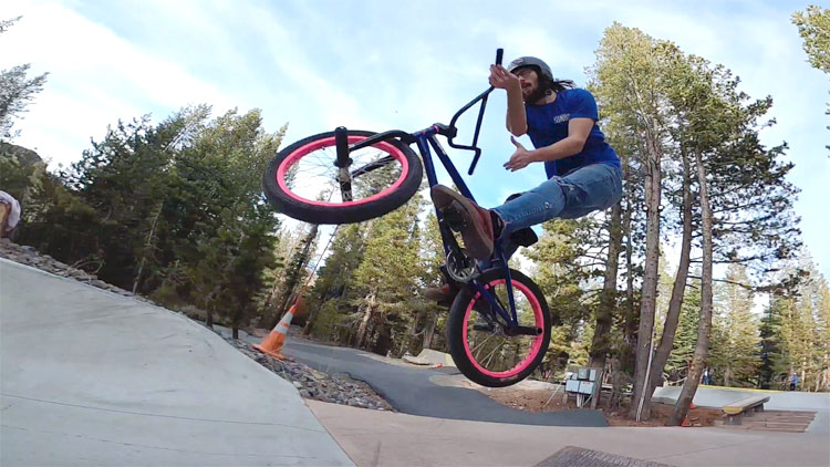 Chris Kerrigan Woodward Summer BMX video