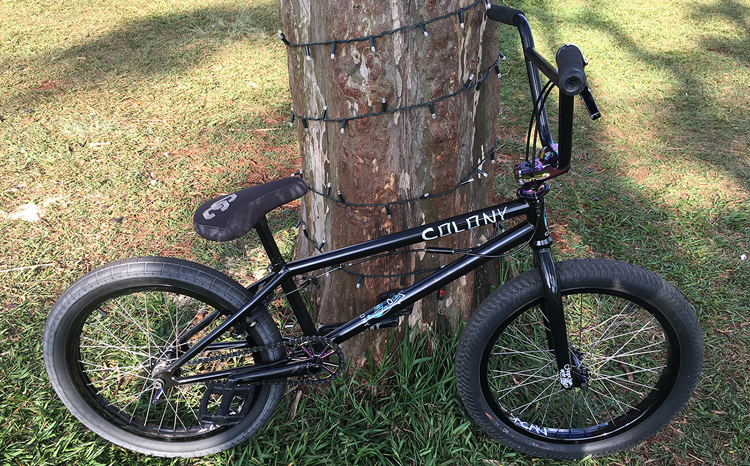 Colony BMX Paulo Sacaki BMX bike check