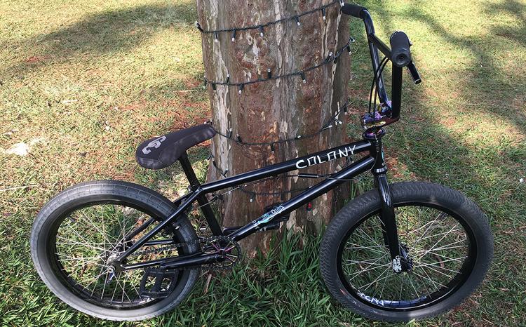 Colony BMX Paulo Sacaki BMX bike check