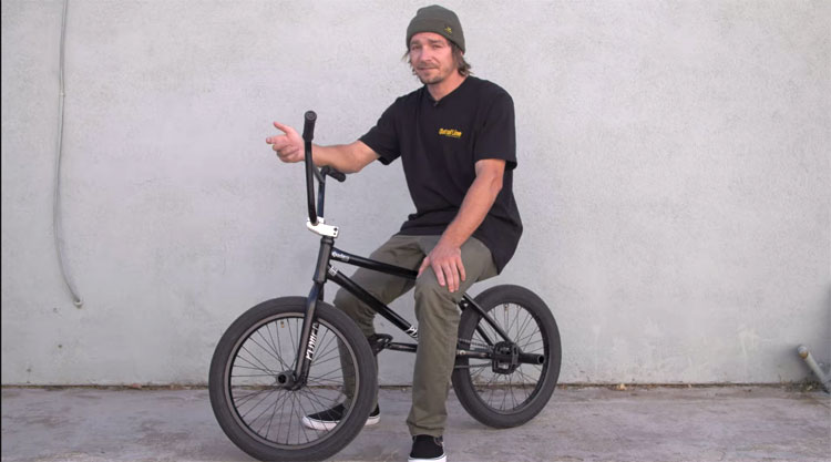 Dan Kruk Video Bike Check BMX