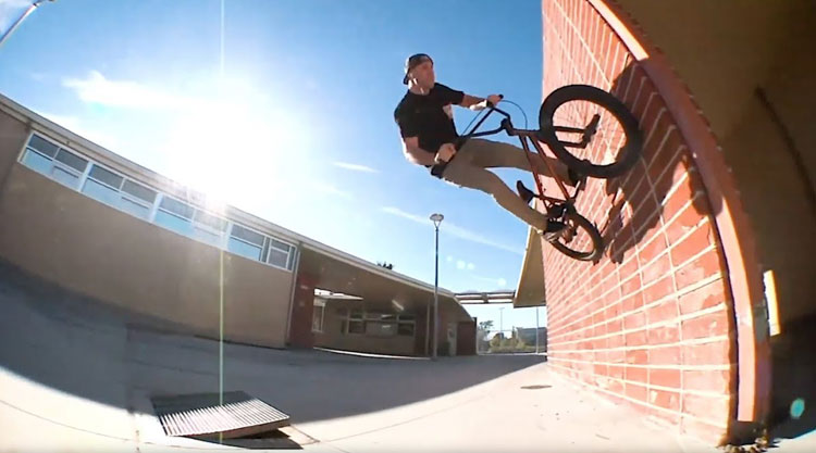 Demolition Parts Ryan Biz Jordan Rotator Promo BMX video