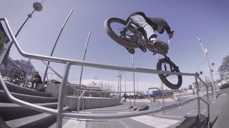 Division Brand Jack Oreilly Make Noise BMX video