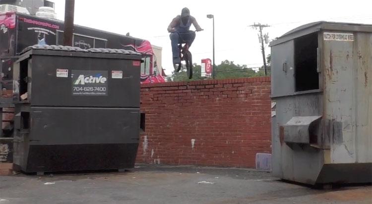 Dorian Coleman Queen City BMX video