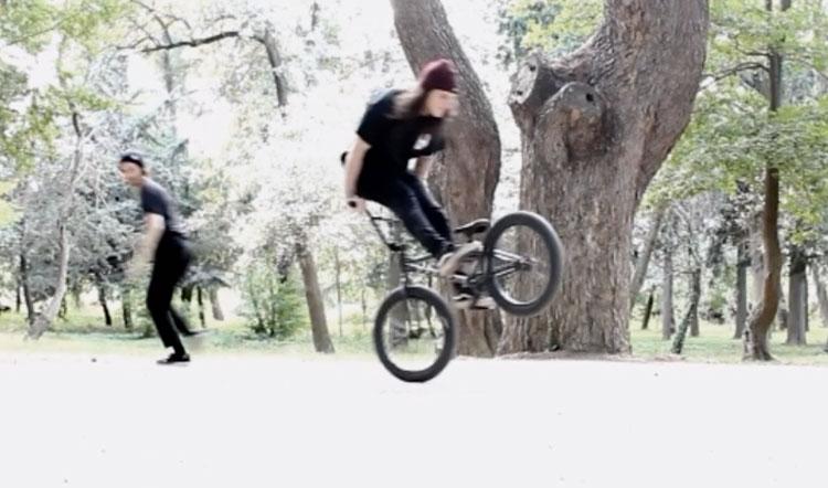 Heresy BMX Biface video