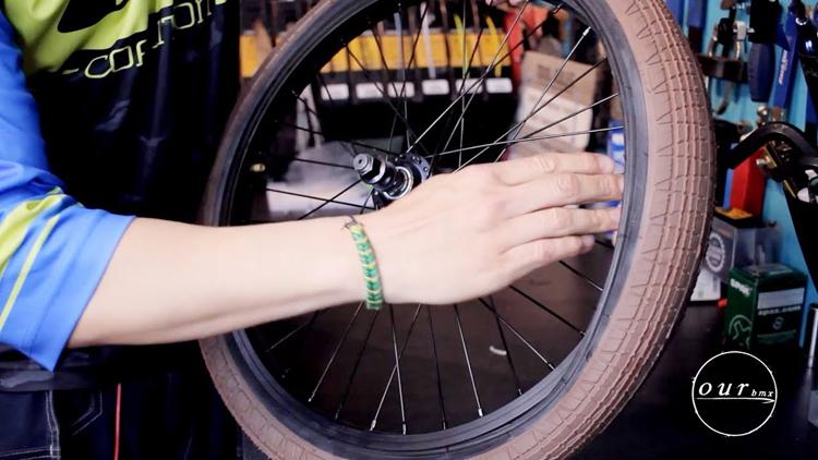 How To Change A Flat Tire On A BMX Bike