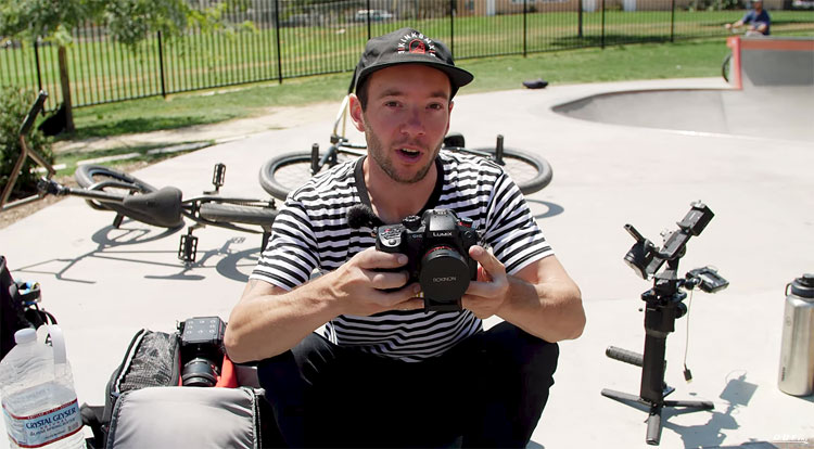 In the Bag Darryl Tocco BMX video