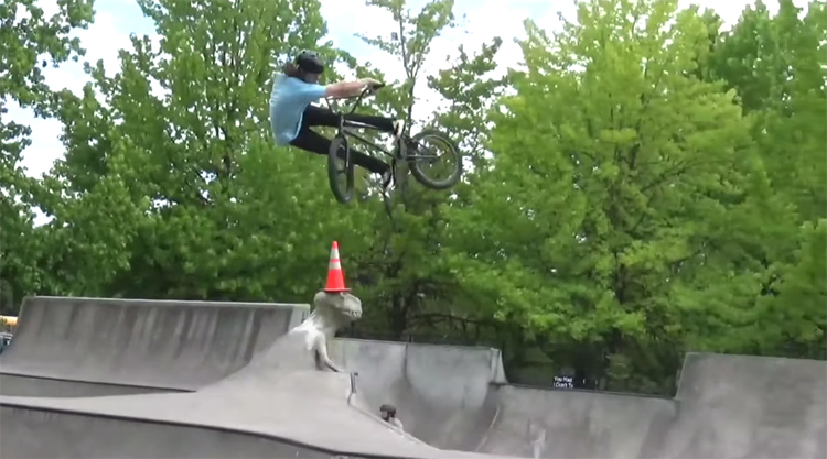 Kurt Perkins Verde BMX video