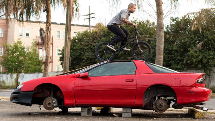 Magnolia Rising BMX video full