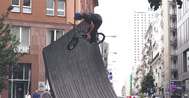 Mark Burnett Warsaw Rising Raw BMX video