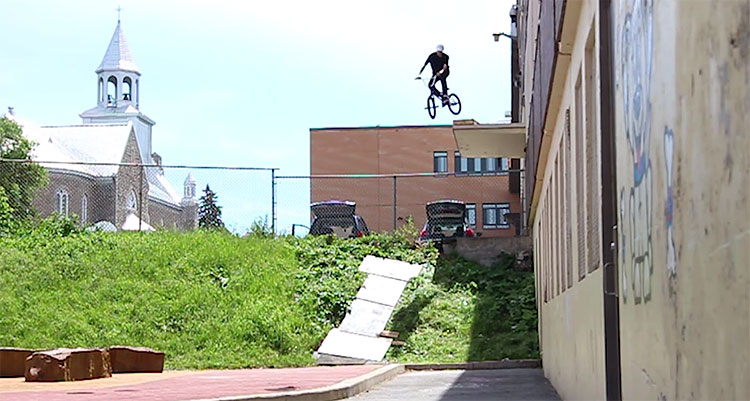 Pascal Lafontaine Behind The Scenes BMX video