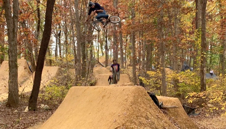PAWoods 2019 BMX video Posh Catty Woods