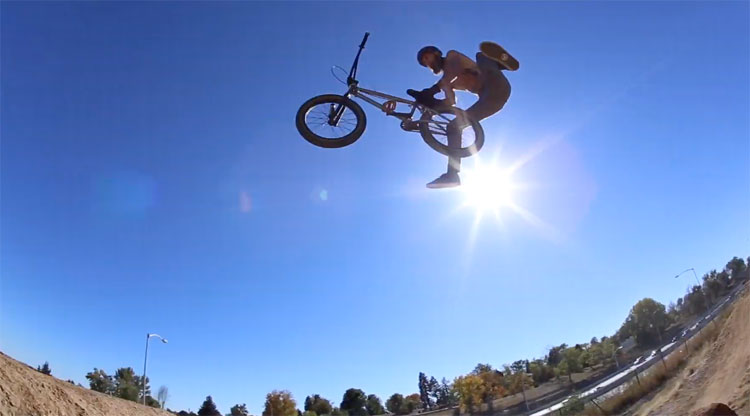 Pusher BMX Nic Bonner Denver BMX video