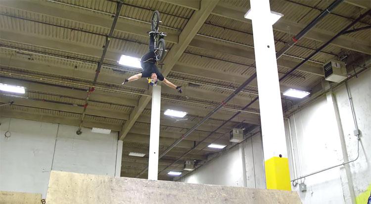 Red Bull Drew Bezanson BMX video