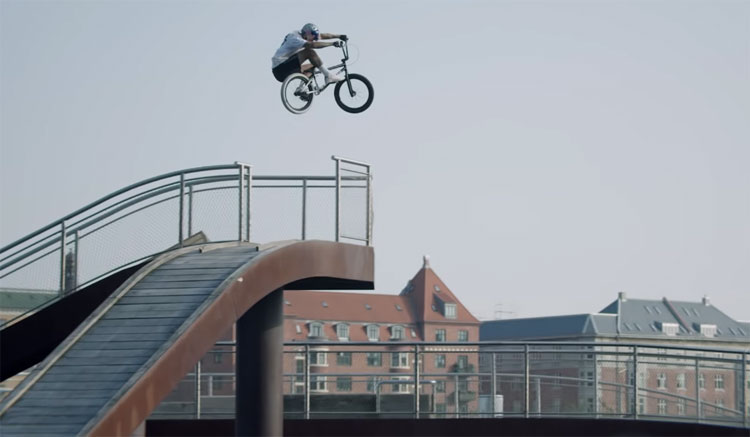 Red Bull Kriss Kyle Denmark BMX video