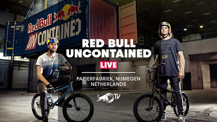 Red Bull Uncontained Live Stream BMX video